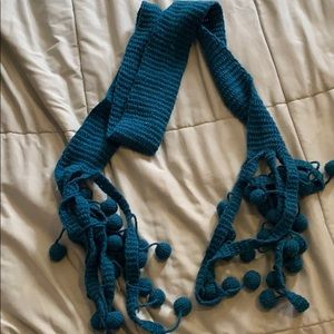 Accessories - NWOT scarf with fringe